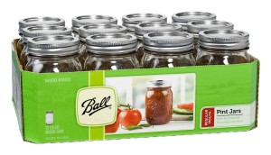 Post image for Amazon- Ball Regular-Mouth Mason Jars with Lids and Bands $11.49