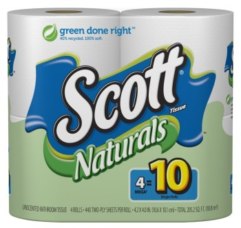 Post image for Amazon Stock Up Alert: Scott's Natural Paper Towels