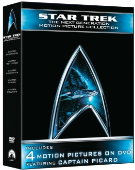 Post image for Amazon Daily Deal: Star Trek The Next Generation Motion Picture Collection