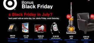 Post image for Target's Black Friday In July Sale Begins Today