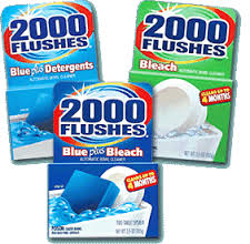 Post image for New Coupon: $1/1 2000 Flushes Toilet Cleaner