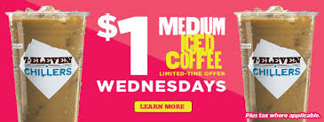 Post image for 7-11: $1 Iced Coffee Wednesdays
