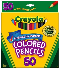 Post image for Amazon-Crayola 50ct Long Colored Pencils Only $6.97