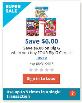 Post image for Kroger: New Digital Coupons = GREAT Cereal Deal