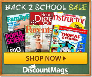 Post image for Back To School Magazine Sale