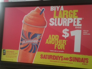 Post image for 7-11: Large Slurpees- Buy One Get One for $1