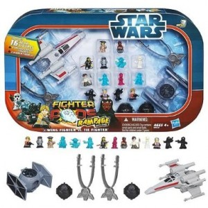 Post image for Amazon-Star Wars Fighter Pods Rampage Figure 16 Pack $16.80