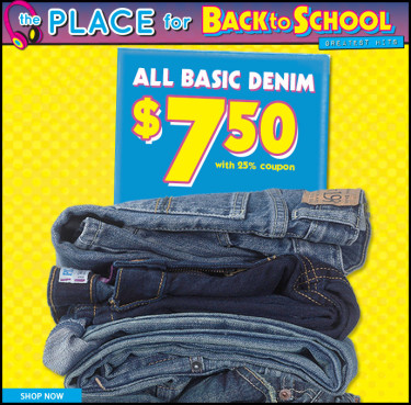 Post image for The Children's Place: Kids Jeans $7.50 Plus Free Shipping