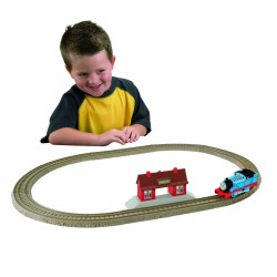 "Post image for Amazon-""Thomas Rides the Rails"" Starter Set $10.79"
