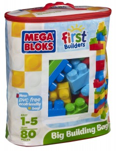 Post image for Amazon-Megabloks 80 pc Large Classic Bag $15.20