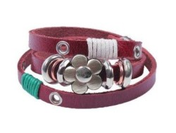 Post image for Amazon-Leather Wrap Bracelet $1.59 Shipped