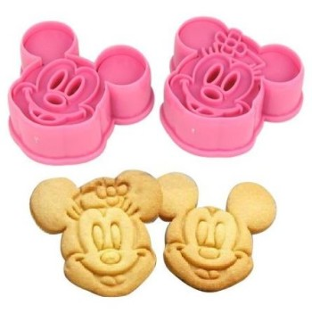 Post image for Amazon- Cute Mickey/ Minnie Mouse Decorating Cookie Cutter Set-Pink $1.59