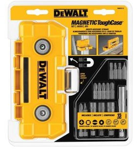 Post image for Amazon-Dewalt 15 piece Magnetic Tough Case Only $16.28