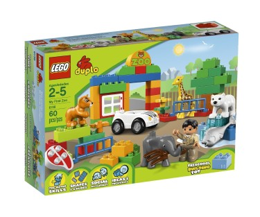 Post image for Holiday Shopping 2013: LEGO DUPLO My First Zoo Set $16.00