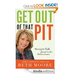 "Post image for Amazon: Beth Moore ""Get Out Of That Pit"" Kindle Book $2.51"