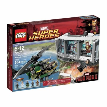 Post image for Amazon: LEGO Super Heroes Iron Man Malibu Mansion Attack $28.00 Shipped