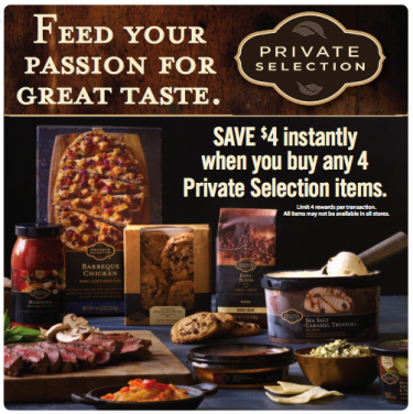 Post image for Kroger Private Selection Sale