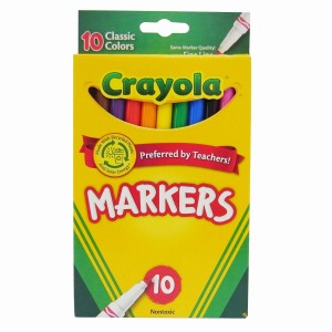 Post image for Amazon-Crayola 10ct Classic Fine Line Markers Only $0.97