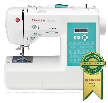 Post image for Amazon Daily Deal: SINGER 7258 Stylist Sewing Machine $129.99