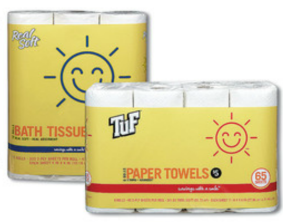 Post image for Walgreens: Sunny Smile Paper Towels $.25 Per Roll
