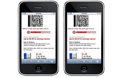 Post image for New Target Mobile Coupons