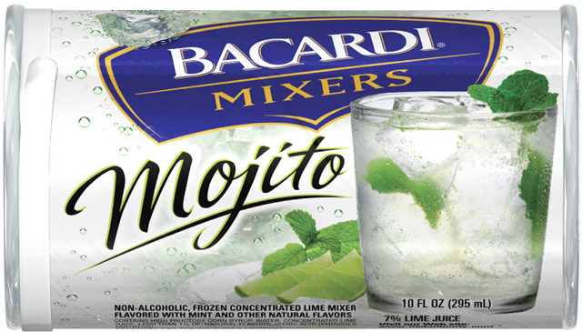 Post image for New Coupon: $1/2 Bacardi Mixers Frozen Cans