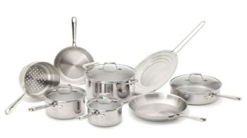 Post image for Amazon-Emeril by All-Clad 12-Piece Cookware Set, Silver $150.00