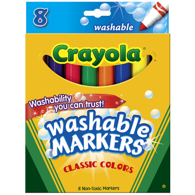 Post image for New Coupon: $1.00 off Crayola 8 ct. Washable Markers