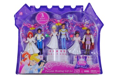 Post image for Disney Princess Sale: Fairytale Wedding Gift Set Figures