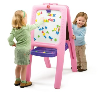 Post image for Amazon-Step 2 Pink Easel for 2 Only $39.97