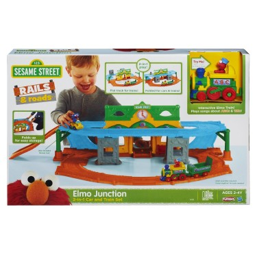 Post image for Target: Elmo Junction Train Set $32.00 (Reg $45)