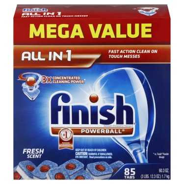Post image for Finish Dishwasher Tabs: Less than $0.13 Each Shipped!