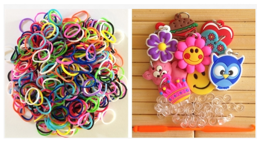 Post image for Glow in the Dark Loom Bands Set (1800-count set): $17.99 Shipped