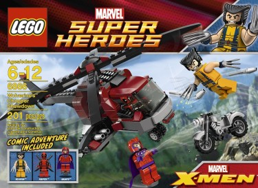 Post image for LEGO Sale: LEGO Wolverine Chopper Showdown $16.14