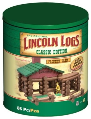 Post image for Amazon: Lincoln Logs Classic Edition Tin $26.99