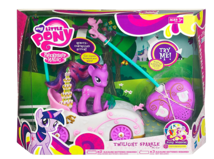 Post image for Amazon-My Little Pony Twilight Sparkle RC Car Vehicle $15.99