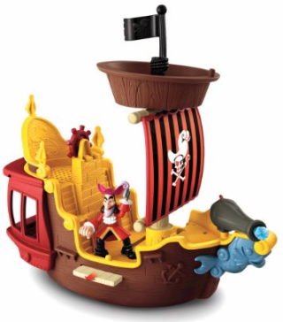 Post image for Amazon- Disney's Jake and The Never Land Pirates Hook's Jolly Roger Pirate Ship Only $18.74