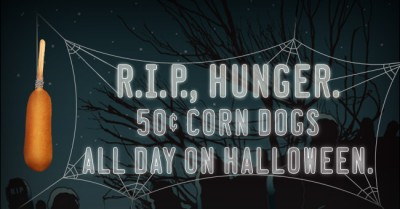 Post image for Halloween Deal: Sonic $.50 Corn Dogs