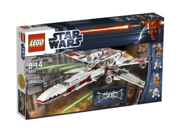 Post image for Lego Sale: LEGO Star Wars X-Wing Starfighter 9493 $43.70