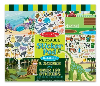 Post image for Amazon-Melissa & Doug Habitats Reusable Sticker Pad $4.99