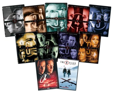 Post image for Amazon Daily Deal: X-Files Plus the Movie on DVD $89.99 Shipped