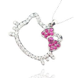 Post image for Hello Kitty Pendant Necklace-$1.19 Shipped
