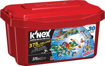 Post image for Amazon-K'NEX 375 Piece Deluxe Building Set Only $10.00