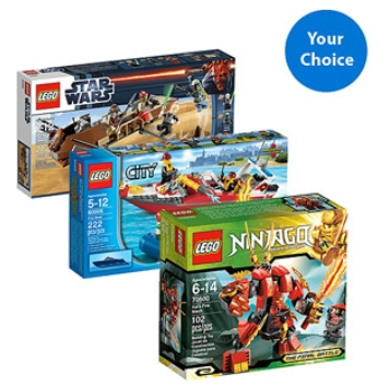 Post image for Walmart.com: 2 Lego Sets For $29