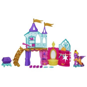 Post image for Cheaper than Black Friday NOW:My Little Pony Crystal Princess Palace Playset-$14.99