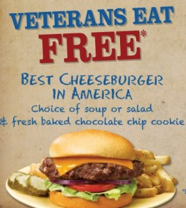 Post image for Max & Erma's FREE Combo Meal for Military (11/11 Only!)