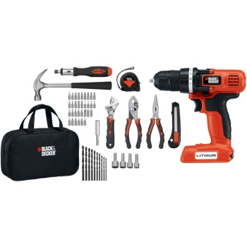Post image for Black & Decker LDX172PK Lithium Drill and Project Kit-$47.52 Shipped