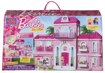 Post image for Barbie Build 'n Play Luxury Mansion-$55.02 Shipped