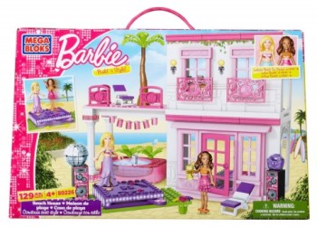 Post image for Amazon-Barbie Build n' Play Beach House $18.04