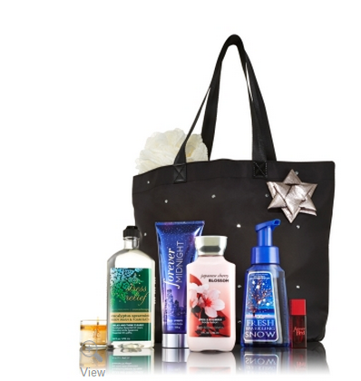 Post image for Bath and Body Works: VIP Tote Bag $20 with $40 Purchase {$100 Value}